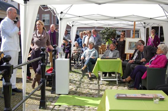 Ivo Opstelen opent expositie van Anne Rensen, Eelko van Iersel, Frank van der Meijden &